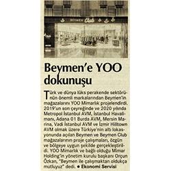 BEYMEN / YOO Mimarlık