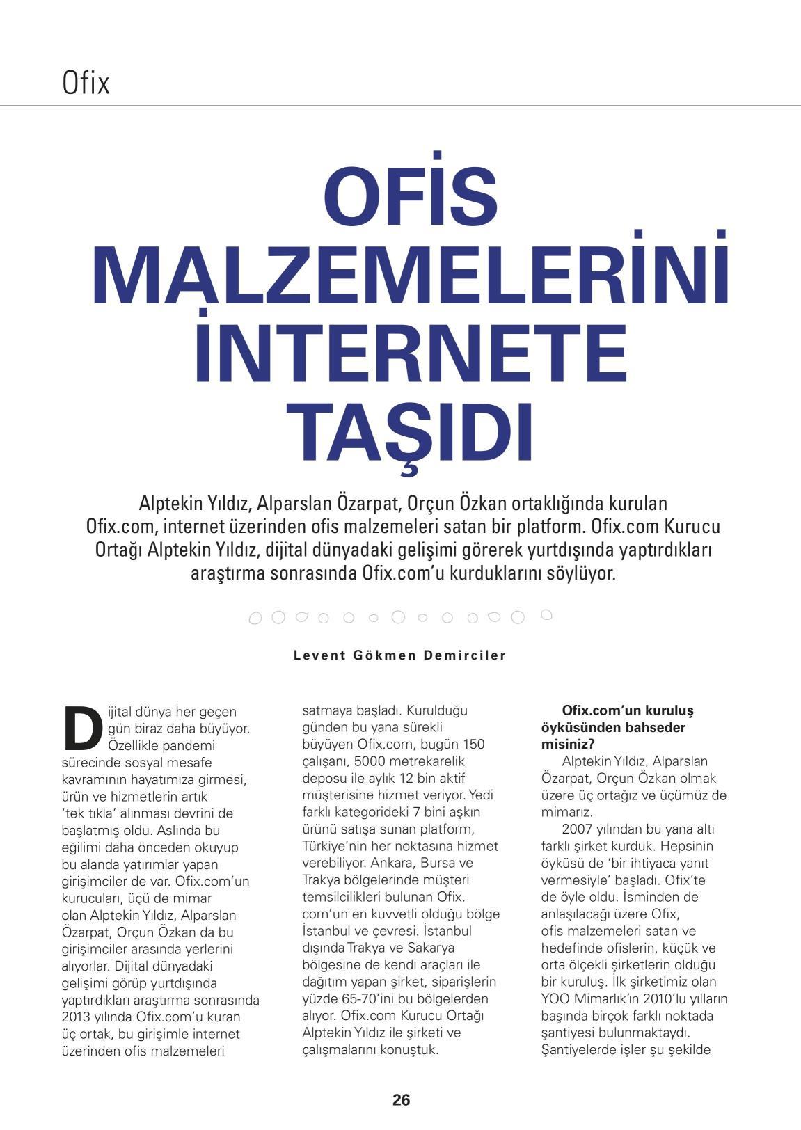 EKONOMİST / OFİX.COM