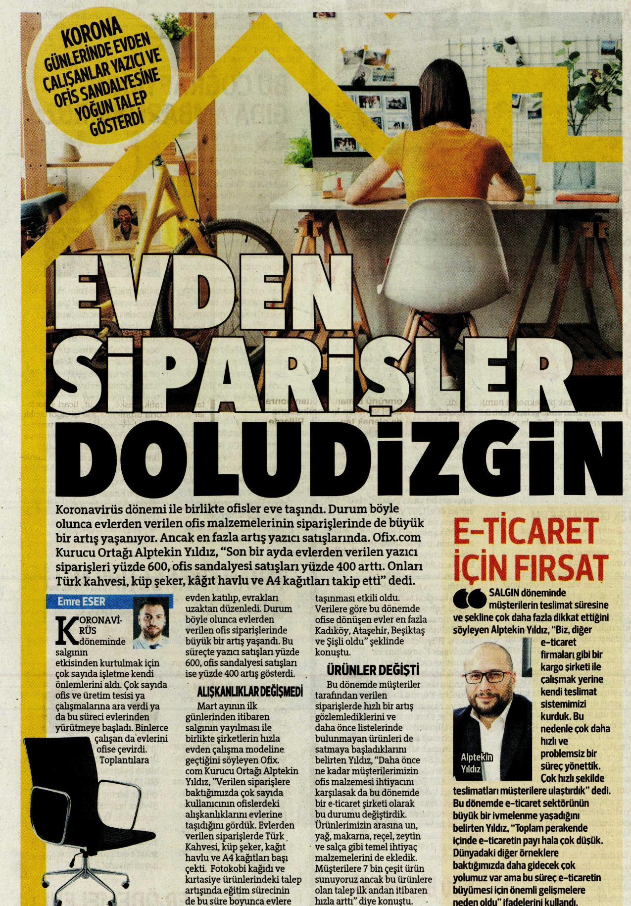HÜRRİYET / OFİX.COM